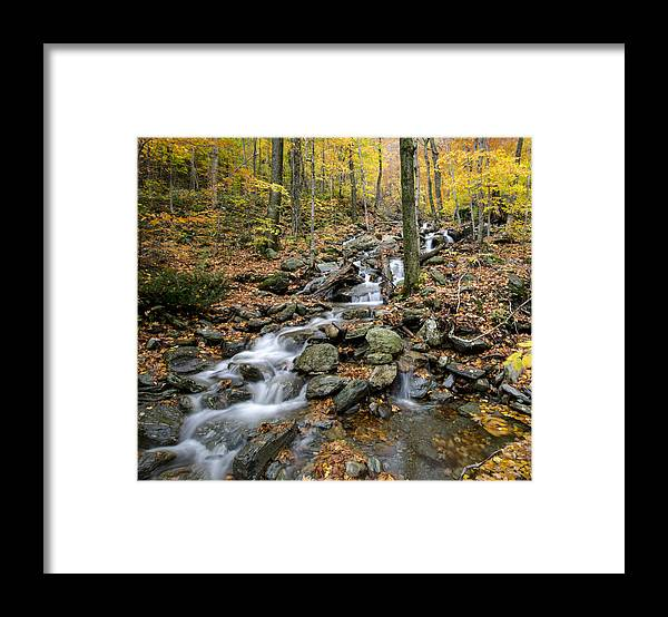 Vermont Framed Print featuring the photograph Beautiful Vermont Scenery 16 by Paul Cannon