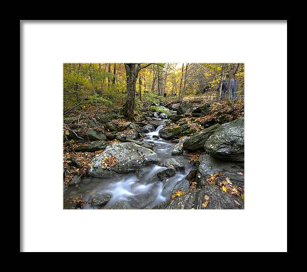 Vermont Framed Print featuring the photograph Beautiful Vermont Scenery 17 by Paul Cannon