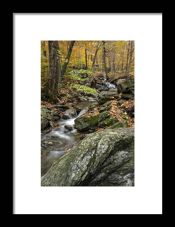 Vermont Framed Print featuring the photograph Beautiful Vermont Scenery 18 by Paul Cannon