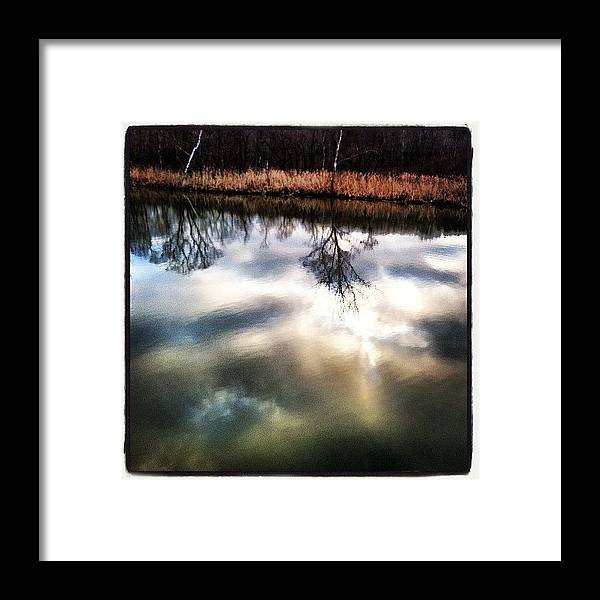 Framed Print featuring the photograph Beaver Marsh   Cvnp Cle Oh by Lori Walter