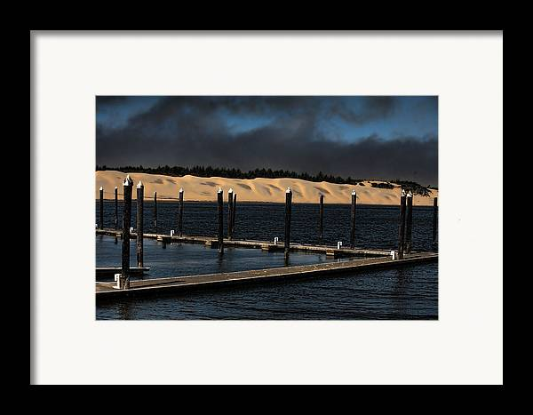 Oregon Framed Print featuring the photograph Before The Storm by Bonnie Bruno