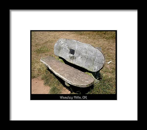Bench Framed Print featuring the photograph Bench 05 by Roberto Alamino