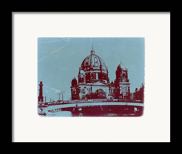 Berlin Cathedral Framed Print featuring the photograph Berlin Cathedral by Naxart Studio