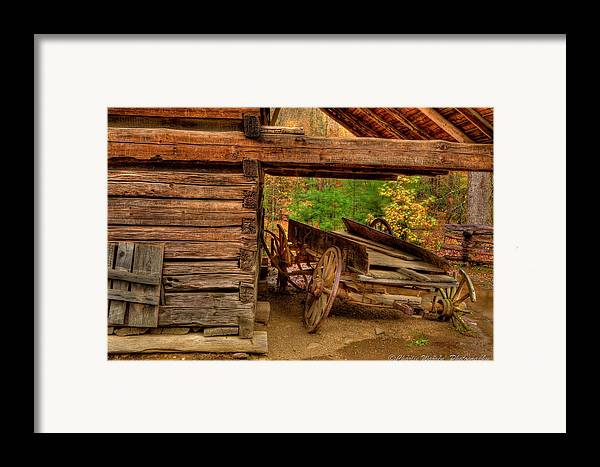 2010 Framed Print featuring the photograph Better Days by Charles Warren