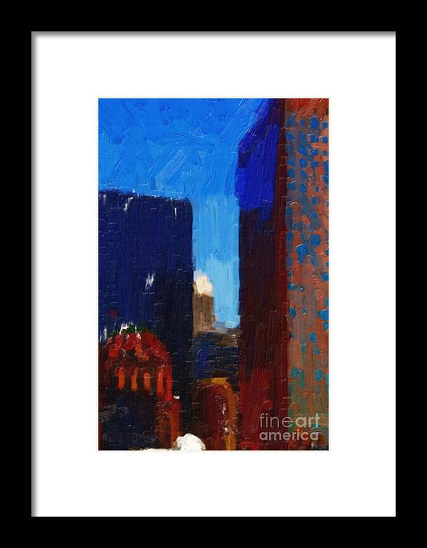 San Francisco Framed Print featuring the photograph Big City by Wingsdomain Art and Photography