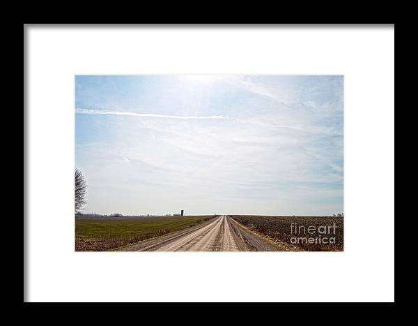 Sky Framed Print featuring the photograph Big Sky by Gary Chapple