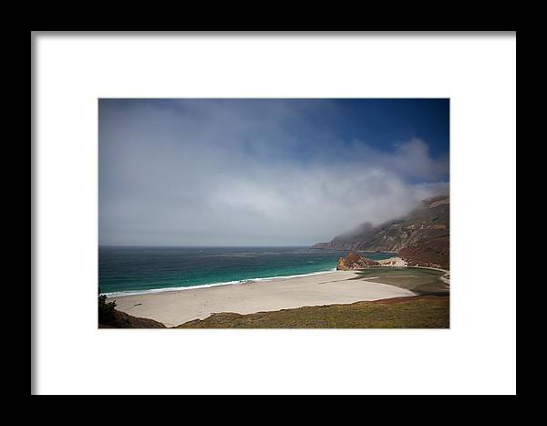 Big Sur Framed Print featuring the photograph Big Sur by Ralf Kaiser