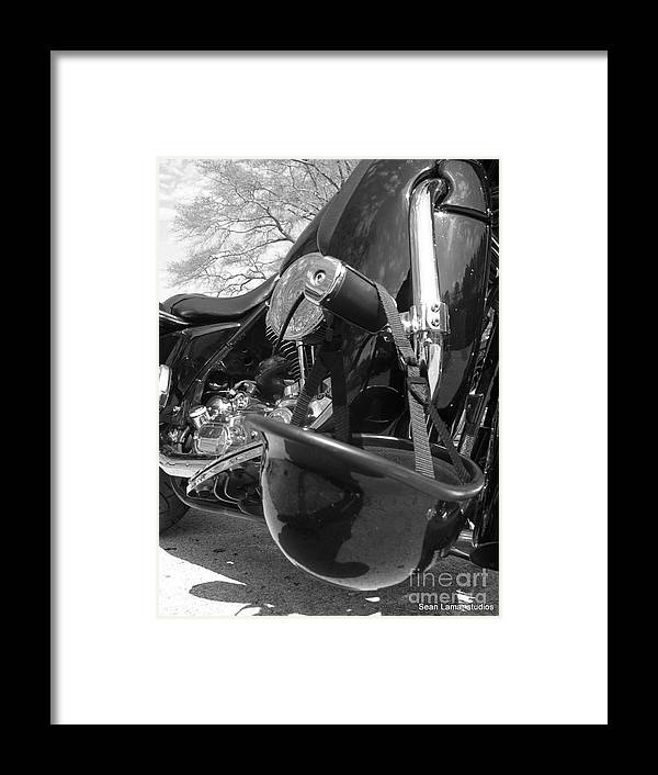 Framed Print featuring the photograph Bike by Sean Abbott