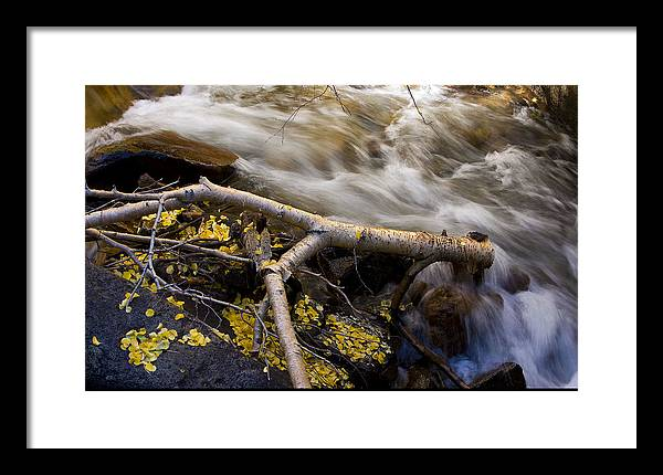 Landscape Framed Print featuring the photograph Bishop Creek-1 by Howard Ehrlich