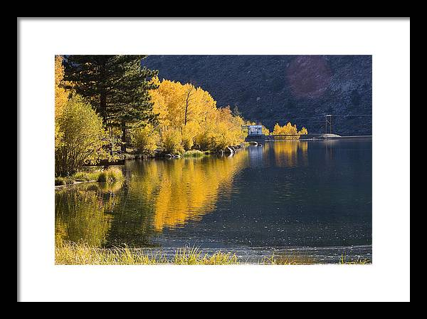 Landscape Framed Print featuring the photograph Bishop Creek Intake Lake by Howard Ehrlich
