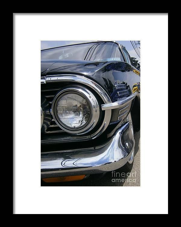 Hot Rods Framed Print featuring the photograph Black Eye by Douglas Kriezel