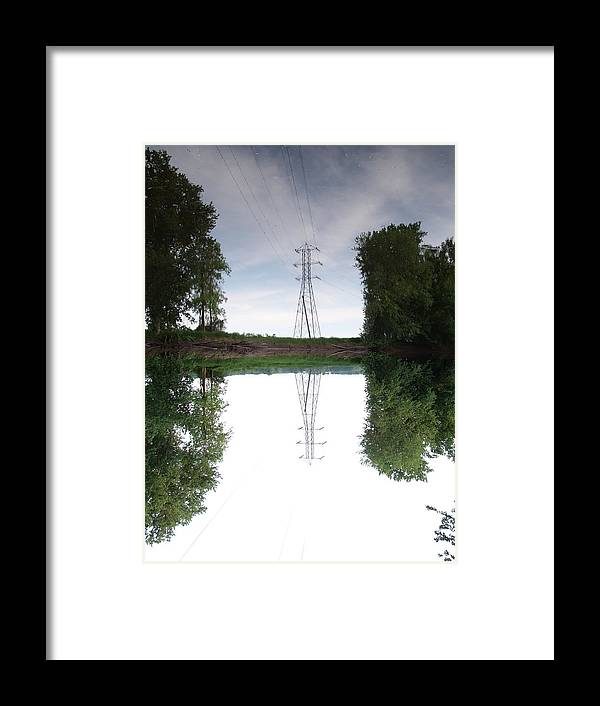 Tower Framed Print featuring the photograph Black River Dadville Ny by Dennis Comins