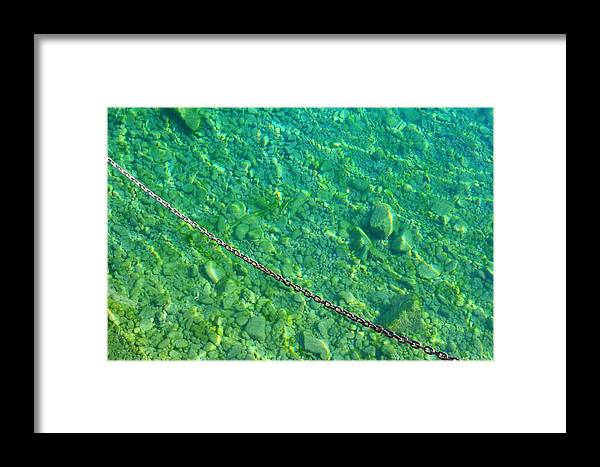 Bleat Waters Framed Print featuring the photograph Bleat Waters by Cyryn Fyrcyd
