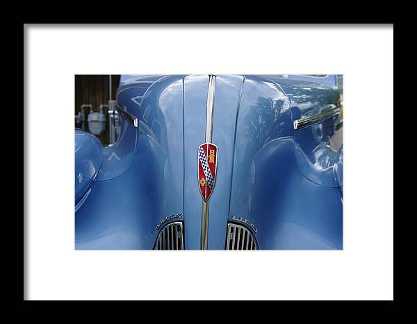 Buick Framed Print featuring the photograph Blue Buick by John Greaves