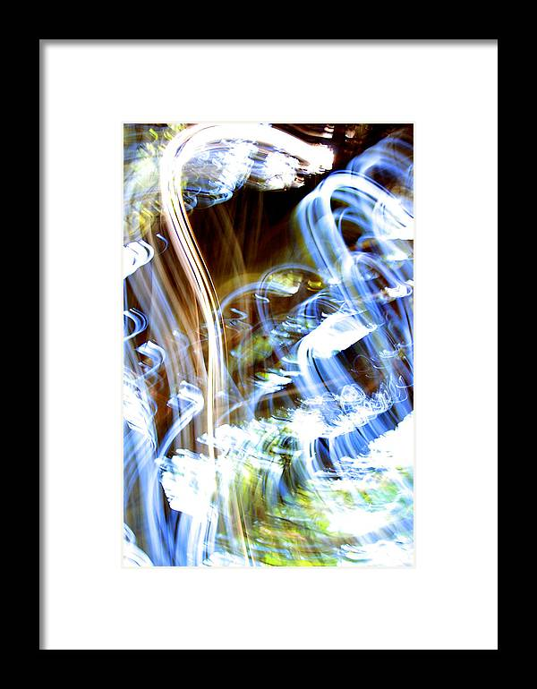 Glowing Framed Print featuring the photograph Blue Days by Ric Bascobert