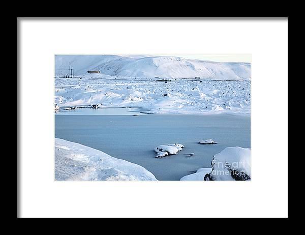 Blue Lagoon Framed Print featuring the photograph Blue Lagoon by Milena Boeva