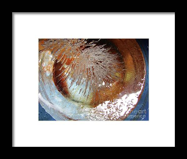 Water Framed Print featuring the photograph Blue Laura by Mark Holbrook