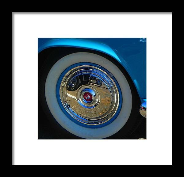 Wheels Framed Print featuring the photograph Bluebird by Chuck Re