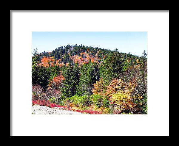 Fall Framed Print featuring the photograph Blueridge Parkway View Near Mm 423 by Duane McCullough