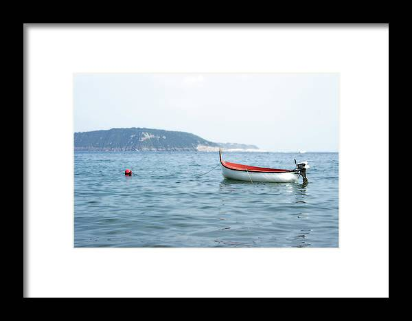 Boat Framed Print featuring the photograph Boat In The Water by La Dolce Vita