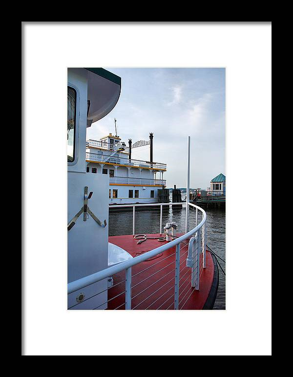 Boat Framed Print featuring the photograph Boats At Alexandria by Steven Ainsworth
