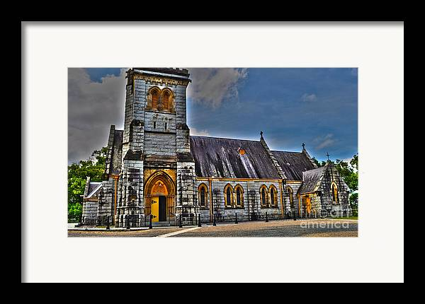 Church Framed Print featuring the photograph Bodalla All Saints Anglican Church by Joanne Kocwin