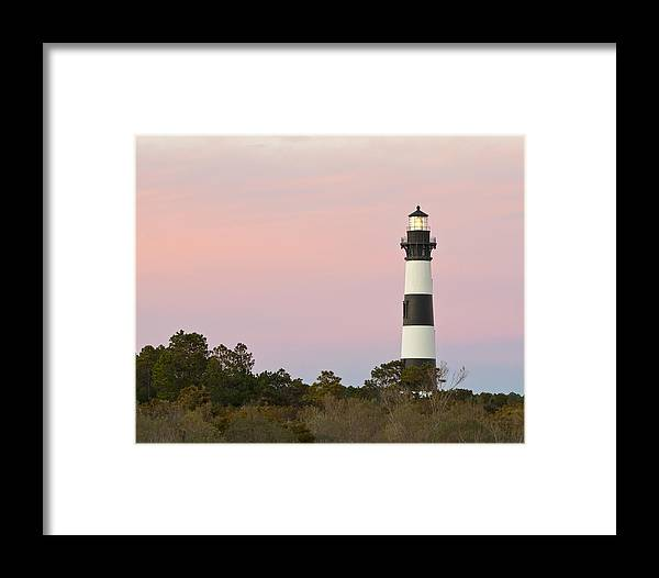 Bodie Island Framed Print featuring the photograph Bodie Island Light by Bill Swindaman
