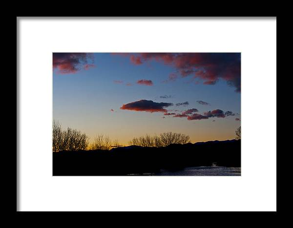 Landscape Framed Print featuring the photograph Bosque Del Apache by Larry Gohl