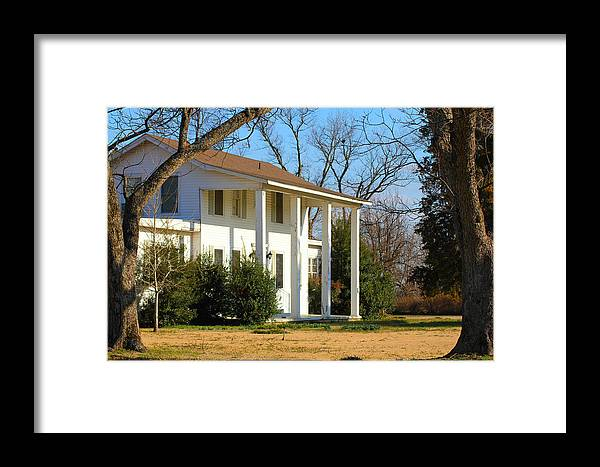 Bobo Framed Print featuring the photograph Boyd Lane Plantation by Karen Wagner