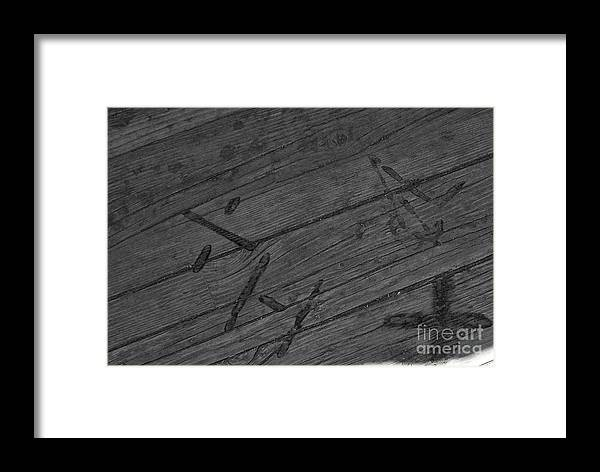 Brand Framed Print featuring the photograph Brands by Pamela Walrath