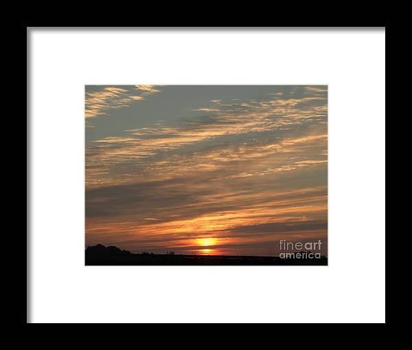 Stunning Framed Print featuring the photograph Break Of Day by Scott B Bennett