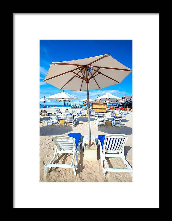 Abandoned Framed Print featuring the photograph Break Time by Juriah Mosin