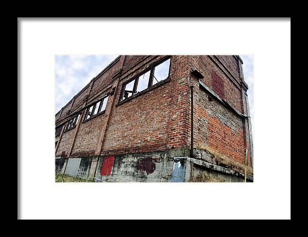 Brick Framed Print featuring the photograph Brick Walls by Elizabeth Alamillo