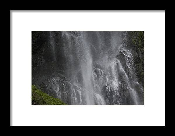 Nobody Framed Print featuring the photograph Bridal Veil Falls, Lowe River by Michael S. Quinton