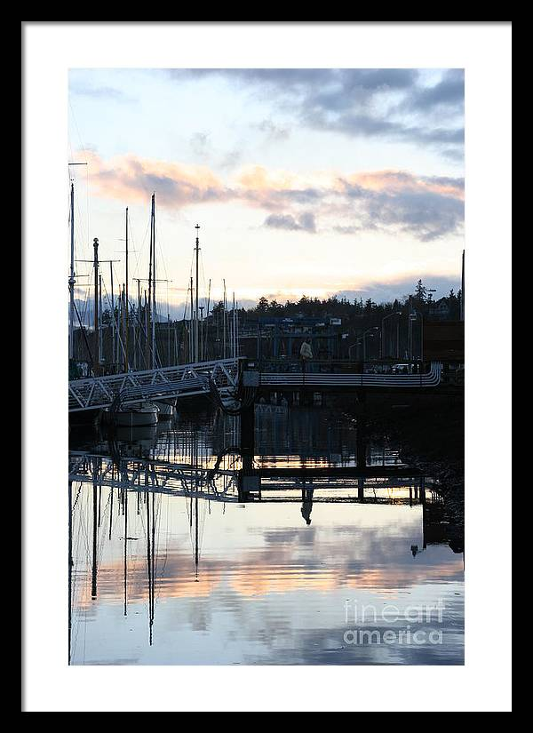 Boat Framed Print featuring the photograph Bridge To The Future by Bruce Borthwick