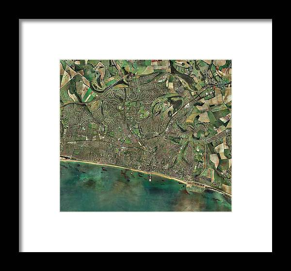 Brighton Framed Print featuring the photograph Brighton, Uk by Getmapping Plc