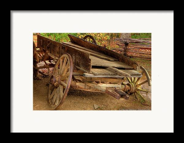 2010 Framed Print featuring the photograph Broke Spoke I by Charles Warren