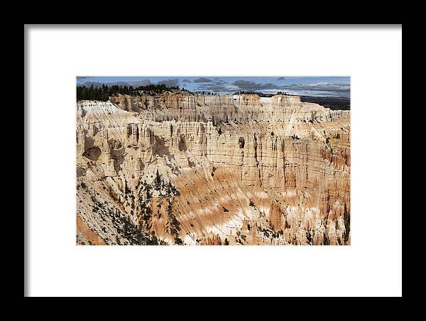 Sandra Bronstein Framed Print featuring the photograph Bryce Canyon Vista by Sandra Bronstein