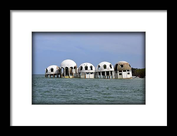 Bubble Houses Framed Print featuring the photograph Bubble Houses July 2012 by Christine Stonebridge
