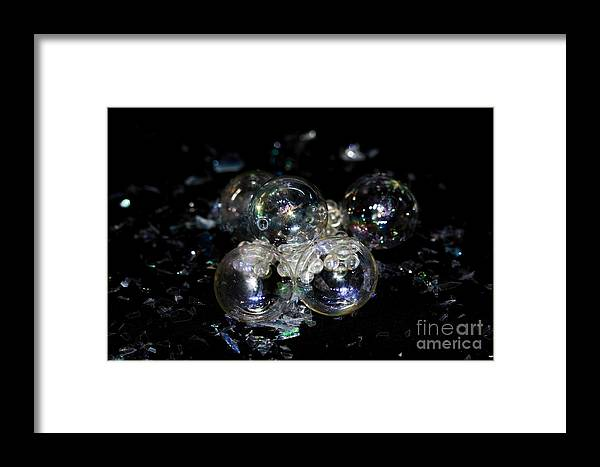 Bubbles Framed Print featuring the photograph Bubble Time by Inspired Nature Photography Fine Art Photography