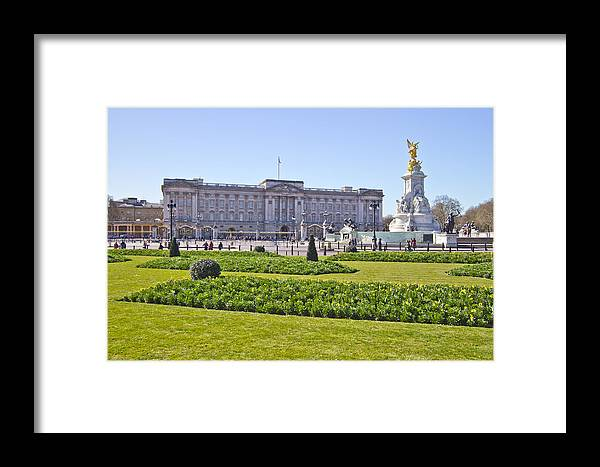 Buckingham Palace Framed Print featuring the photograph Buckingham Palace by David French
