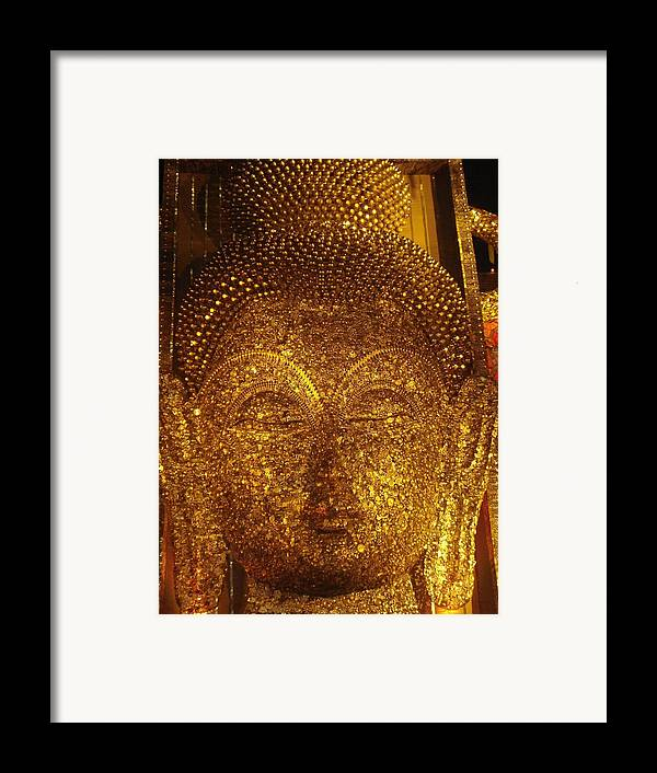Installation Art Framed Print featuring the mixed media Buddha by Prasenjit Dhar