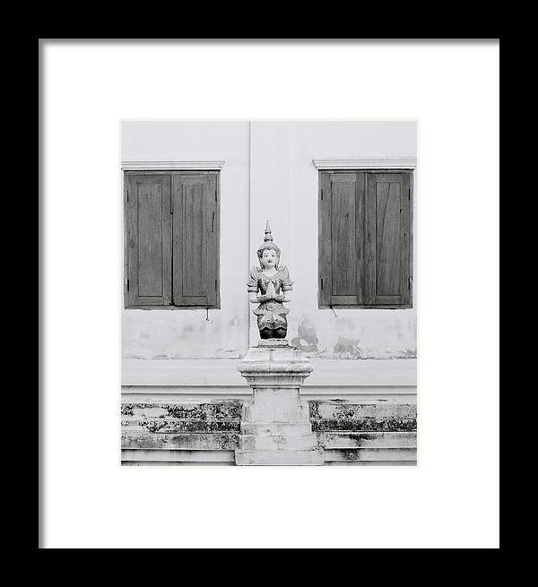 Meditation Framed Print featuring the photograph Buddhism by Shaun Higson