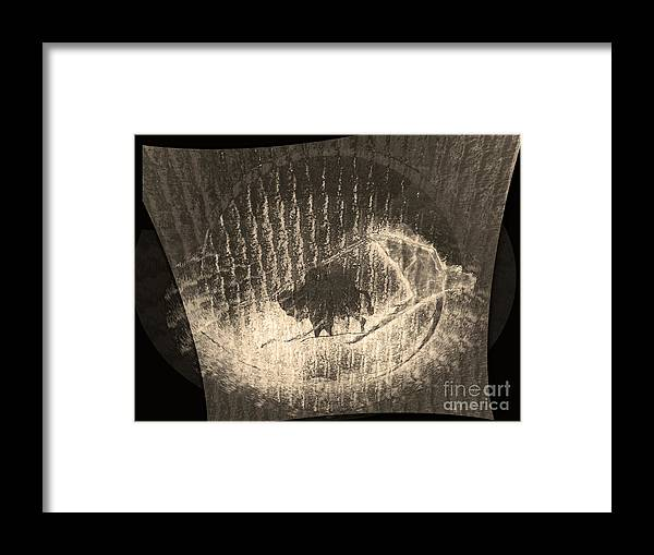 Native American Framed Print featuring the photograph Buffalo Spirit by Patricia Januszkiewicz