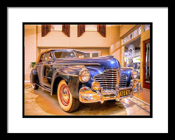 Framed Print featuring the digital art Buick Classic by Martin Fine