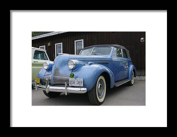 Buick Framed Print featuring the photograph Buick by John Greaves