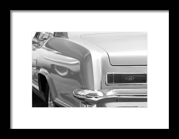 1950 Framed Print featuring the photograph Buick Riviera by Rob Hans