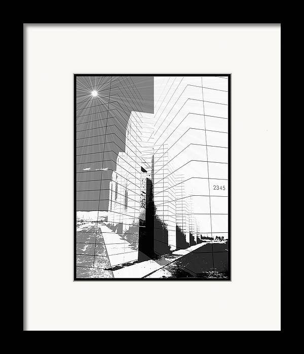 Buildings Framed Print featuring the photograph Building Blocks by Glenn McCarthy Art and Photography