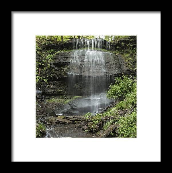 Waterfalls Framed Print featuring the photograph Buttermilk Falls by Scott Rhoads