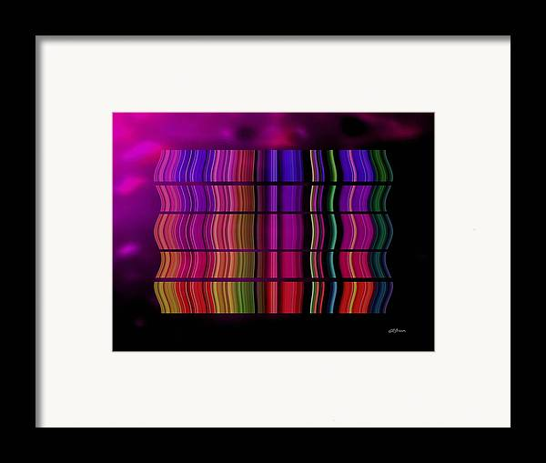 Cabaret Framed Print featuring the digital art Cabaret by Greg Reed Brown